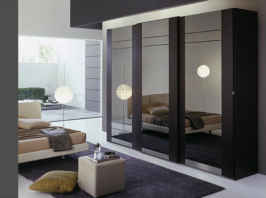 Дизайн встроенных шкафов купе в спальню фото